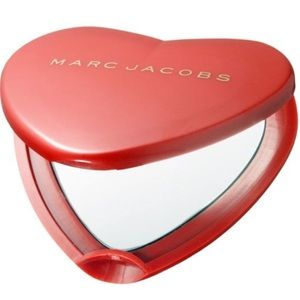 Marc Jacobs Heart Compact Mirror ❤️